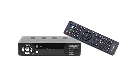 New FULL HD 1080P Freeview HD Receiver and FULL HD USB Recorder DIGITAL TV Set Top Box Tuner HD Digibox + USB Multi Media Player Terrestrial Analogue to Digital Television Converter DVB-T2 / MPEG-4 (3in1) By iView HD