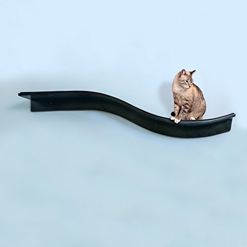 The-Refined-Feline-Lotus-Branch-Cat-Shelf-Espresso