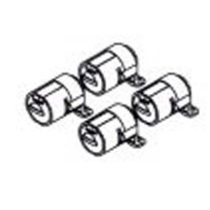 Yakima Q Tower Lock Housing - Set of 4 by Yakima