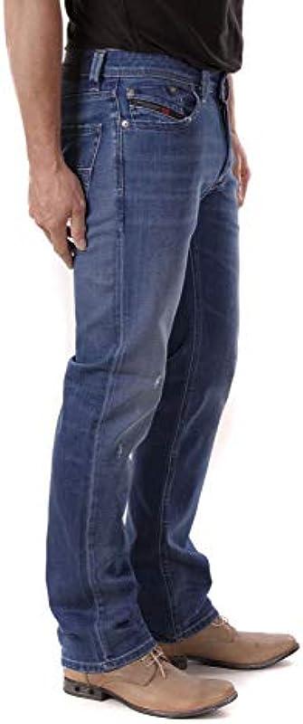 Diesel Larkee 084QQ jeansy męskie Regular Straight: Odzież
