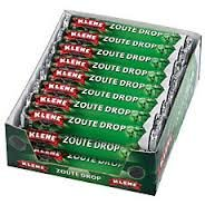 Klene Zoute Rol Drop (Salty Roll Licorice) 24 rolls
