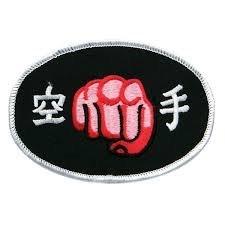 fist patch (Karate Fist Patch)