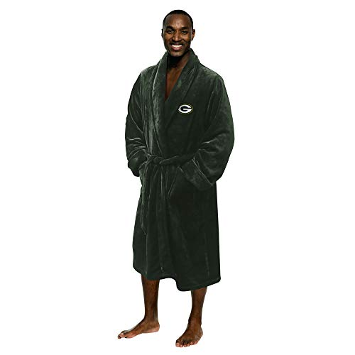 Northwest Men's NFL Robe by The Company One Size Green Bay Packers (Green Bay Packers Robe)