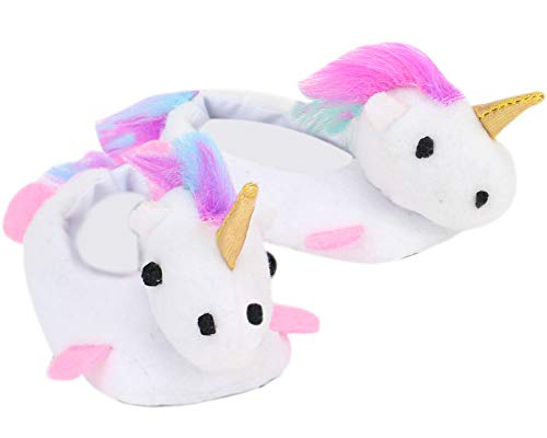 [해외]White Unicorn Slippers for 18 Inch Dolls | Rainbow Haired Unicorn Slippers for Dolls / White Unicorn Slippers for 18 Inch Dolls | Rainbow Haired Unicorn Slippers for Dolls