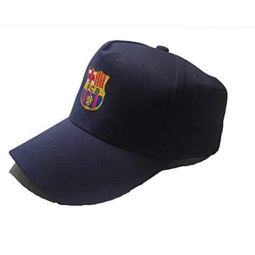 1e1ae224a68 HANQHONFQ Fc Cap Barcelona Blue Adjustable Cap Unisex Basic Collection  Embroidered Baseball ()