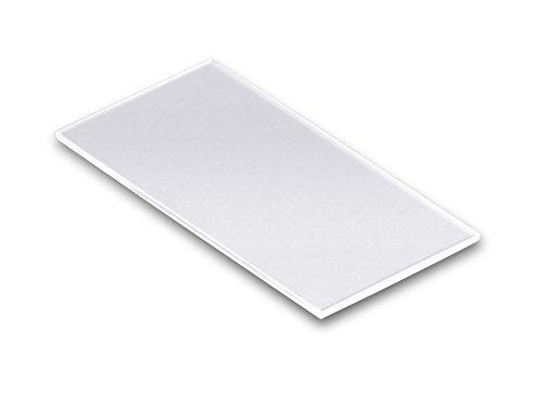 Technical Glass Products 1029OQKXTAF Fused Quartz Microscope Slides, 2
