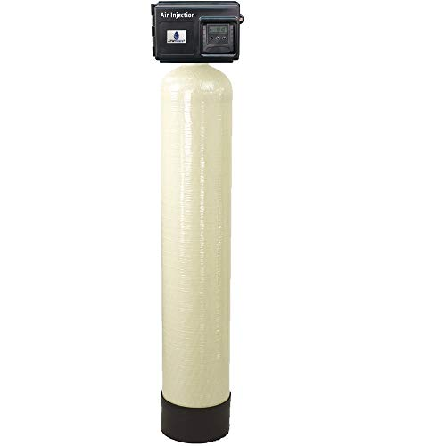 AFWFilters AIS10-25SXT AFW Air Injection Iron, Sulfur, and Manganese Removal Oxidizing Water Filter, Almond Or Black (Iron Filtration System)