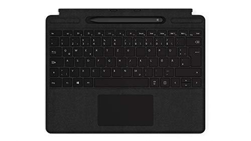 Microsoft Surface Pro X, 13 Zoll 2-in-1 Tablet (Microsoft SQ1, 8GB RAM, 128GB SSD, Win 10 Home) + Surface Pro X Signature Keyboard im Bundle mit Slim Pen