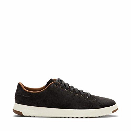 Cole Haan C24124 Men's Grandpro Tennis Fashion Sneaker, Grey Oiled Suede, 11 M US