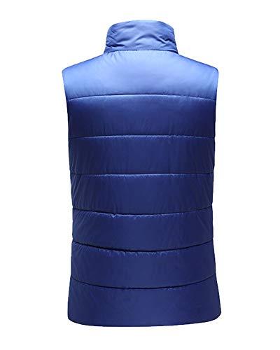 Gilet Matelassée Bleu Ultra En Sans Veste Manches Doudoune Loisirs Homme Saphir Duvet Léger PxaEvv