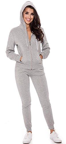 Grey Hooded Sweat - 7