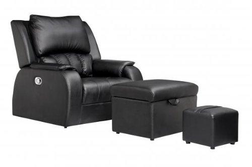 Amazon Com Pu Leather Premium Recline Foot Massage Chair Sofa