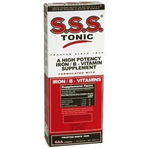 S.s.s. B-complex Vitamin Tonic Liquid - 10 Oz (Pack of 5) by s.s.s