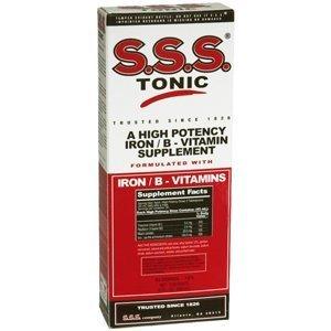 S.s.s. B-complex Vitamin Tonic Liquid - 10 Oz (Pack of 5)