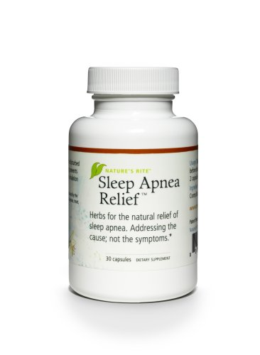 Nature's Rite Sleep Apnea Relief, 30 Count