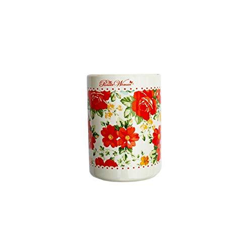 The Pioneer Woman Vintage Floral 6 Piece Utensil Crock & Tool Set Vintage Floral