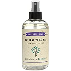 Mind Over Lather Lavender Mint Natural Yoga Mat Cleaning Spray, 8 oz