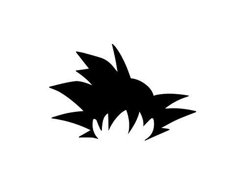 Goku Hair - DragonBall Z Inspired Stencil - 12' x 8' - 190Mu Mylar A, Airbrushing, Craft, Grafitti ST-ML-AN-00001 Apex Laser ltd