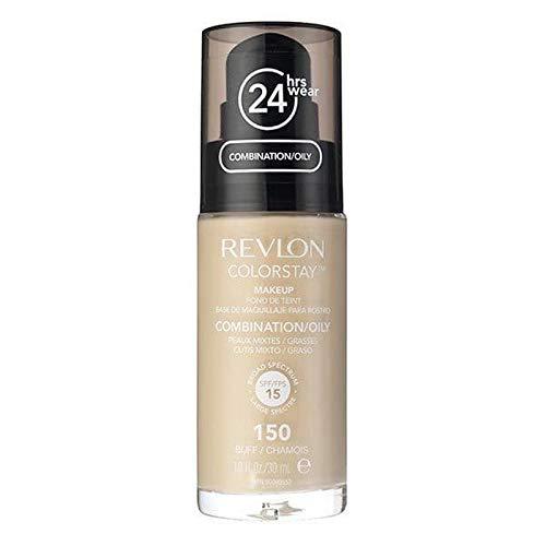 作者運河通行人[Revlon ] レブロンカラーステイ基盤コンビ/油性バフ30ミリリットル - Revlon Color Stay Foundation Combi/Oily Buff 30ml [並行輸入品]