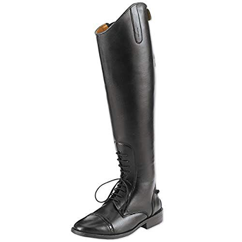 - Equistar Childs All-Weather Synthetic Field Riding Boots, Black, 4