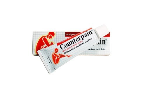 Counterpain Hot Analgesic Cream Muscular Pain Relief Counter Pain Rub (Topical Analgesic Ointment)