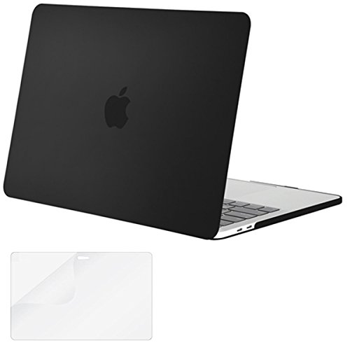 New Mosiso Plastic Hard Case with Screen Protector for Newest MacBook Pro Retina 15 Inch (A1707 with...