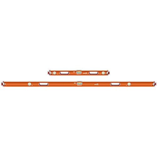 Swanson SVBJKM 32-Inch and 78-Inch Savage Magnetic Professional Box Beam Level with Gel End Cap Jamber ()