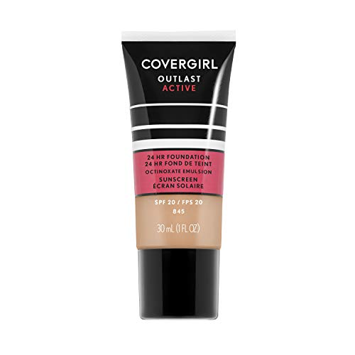 - Covergirl Outlast Active Foundation, Warm Beige, 1 Ounce