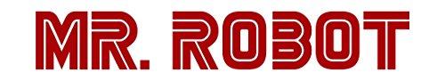 MR ROBOT TV SHOW LOGO VINYL STICKERS SYMBOL 6