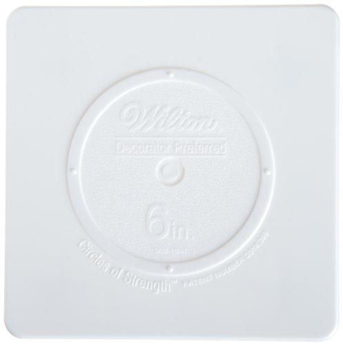Wilton 302-1801 Decorator Preferred Square Separator Plate for Cakes, ()