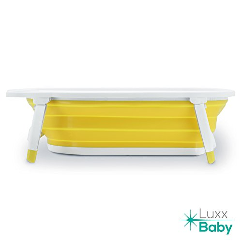 luxx baby bf1 folding bath tub by karibu w non slip mat. Black Bedroom Furniture Sets. Home Design Ideas