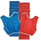 Adult Scrimmage Vest 50 Pack Blue/Red (PAC)