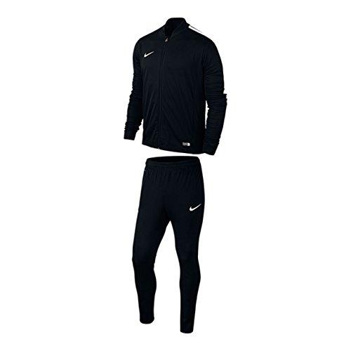 Nike Herren Trainingsanzug Academy 16 Knit Tracksuit, Black/White, L, 808757-010