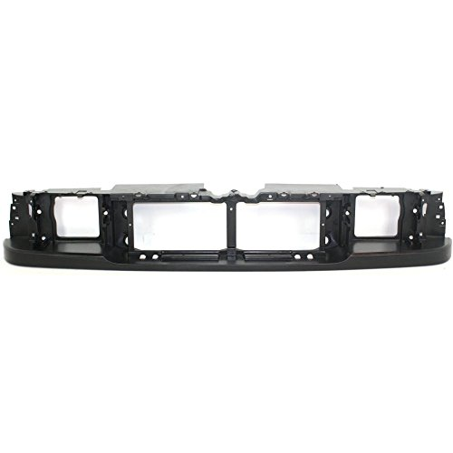 Evan-Fischer EVA20472011281 Header Panel for Audi A6 06-11 Upper Cover Plate Plastic