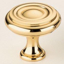 Omnia 9141/30 Classic & Modern 1-3/16 Inch Diameter Mushroom Cabinet Knob, Satin Nickel