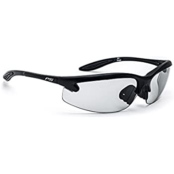 Safety Glasses with Transitions Lenses in Pewter