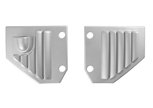 Putco 403508 Chrome Side Vent Covers with Antenna Mount for Hummer H2 / H2 SUT