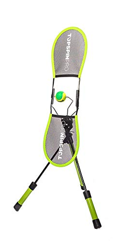 TopspinPro - Tennis Training Aid, Learn Topspin in 2 Minutes a Day (Tennis Ball Accessories Machine)