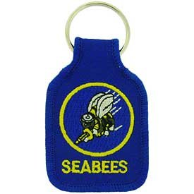 Embroidered Key Chain - SEABEES