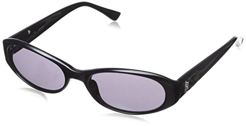 Guess GU7202-BLK-3 Women's Oval Black Sunglasses Purple - Guess Sunglasses For Women 2013