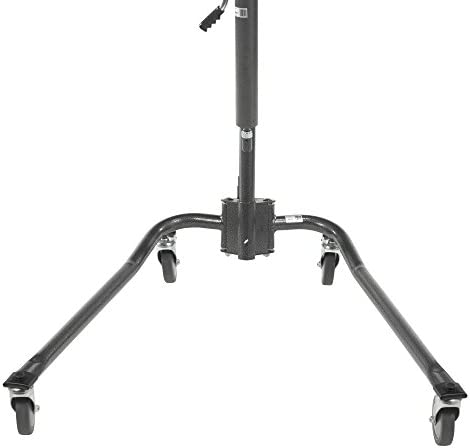 Drive Medical Hydraulic Patient Lift | Six Point Cradle, 5-Inch Casters | Silver Vein 31Uuf8lMWKL