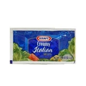 Kraft® Creamy Italian Dressing (7/16 oz) (Case of 200)