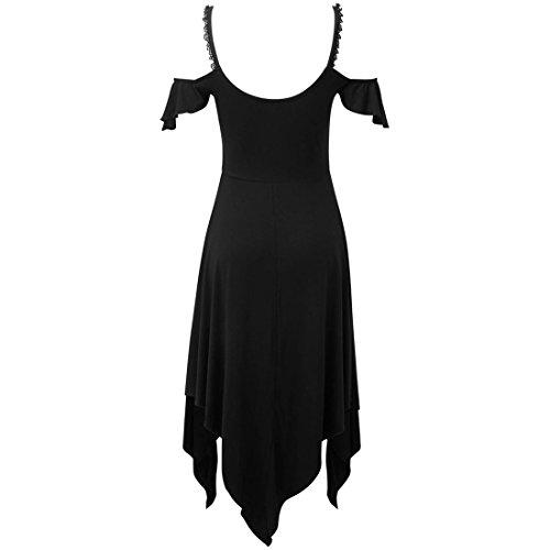 Killstar Schwarz Gothic Pyre Pixie Kleid 0TpY0