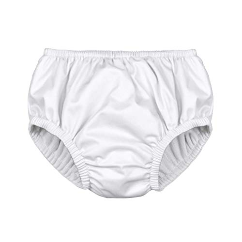 i play. by green sprouts Clothing, Shoes & Jewelry Toddler Kids Swim Diaper, White, 4T