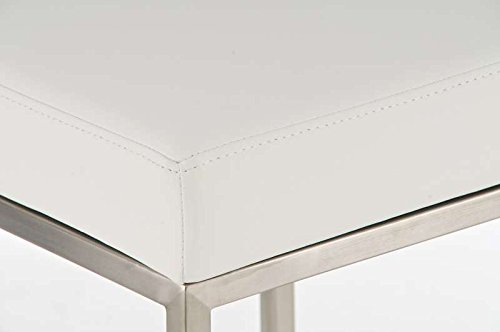 Tabouret de Bar Design Montreal I Tabouret de Bar Rembourré Revêtement Similicuir I Chaise Haute de Bar Confortable avec…