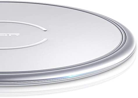 ESR Cargador Inalámbrico Rápido, Wireless Charger para iPhone XS/XS MAX/XR/X/8/8 Plus, 10 W Carga Rápida para Samsung Note 9/S9/S9 Plus/S8/Note ...
