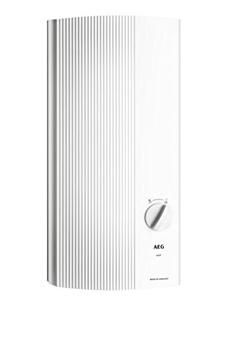 AEG 228842 DDLE 24 Easy - Calentador de agua electrico (24kW, 400 V), color blanco