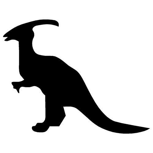 DECAL-STYLE - 14.5x11.3CM Classic Dinosaur Hadrosaur for sale  Delivered anywhere in USA