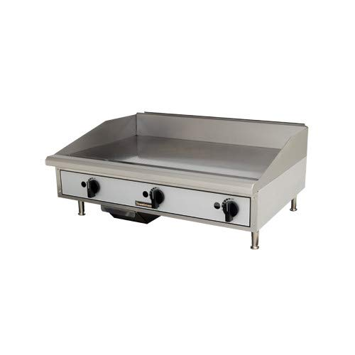 - Toastmaster TMGM36 36 Commercial Gas Countertop Griddle - Manual Controls