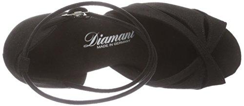 Diamant Damen Latein Tanzschuhe 141-077-335, Women's Ballroom Dance Shoes Black